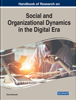 "Cover of the book ""Social and Organizational Dynamics in the Digital Era."""