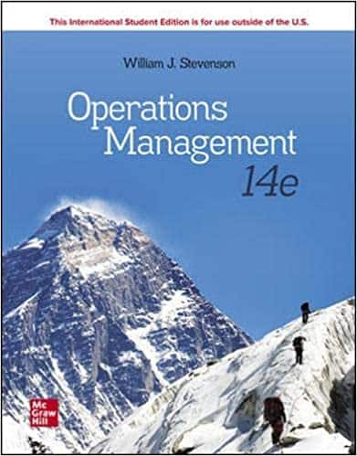 Picture of Operations Management Text by Stevenson-12th Edition
